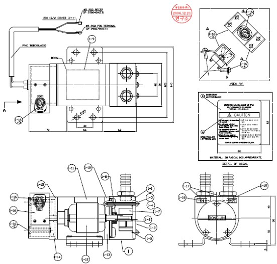 汽车油泵控制电路图